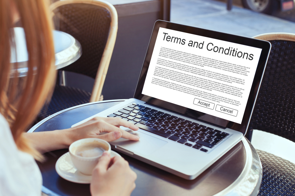 Time to Review Your Online Terms & Conditions