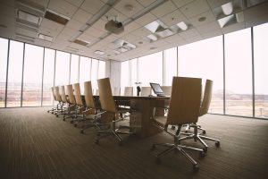 anti-harassment training meeting room photo